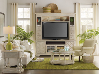 Stow and organize electronic media with ease. Learn more about entertainment center sizes, placement, and types.