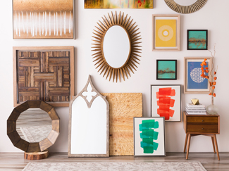 From metal sculptures to canvas paintings, wall art offers the perfect decorative touch in any room. Learn more about wall art types and placement.