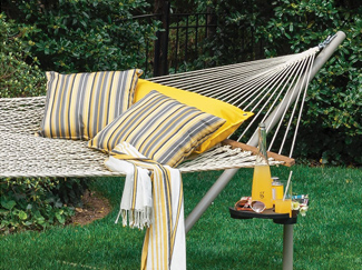 Hammocks are an outdoor lounge staple. Learn more about hammock types, suspension systems, measurements, and care.
