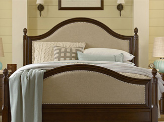 The perfect bedding brings comfort and style to any bed. Learn more about bedding sizes, fabrics, style, and care.