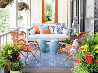An outdoor rug brings indoor comfort and style to your outdoor living space. Learn more about outdoor rug materials, sizes, styles, and care.