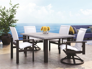 Aluminum Construction. Aluminum Outdoor Furniture ...