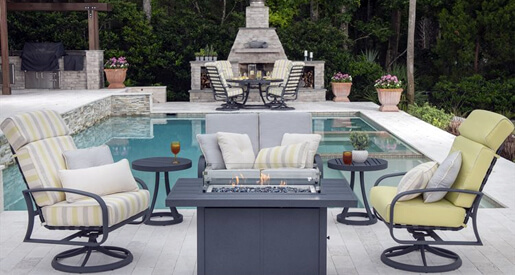 Whether you have a large surrounding patio or a small yard near your pool, we have several posh poolside decorating ideas for your home.