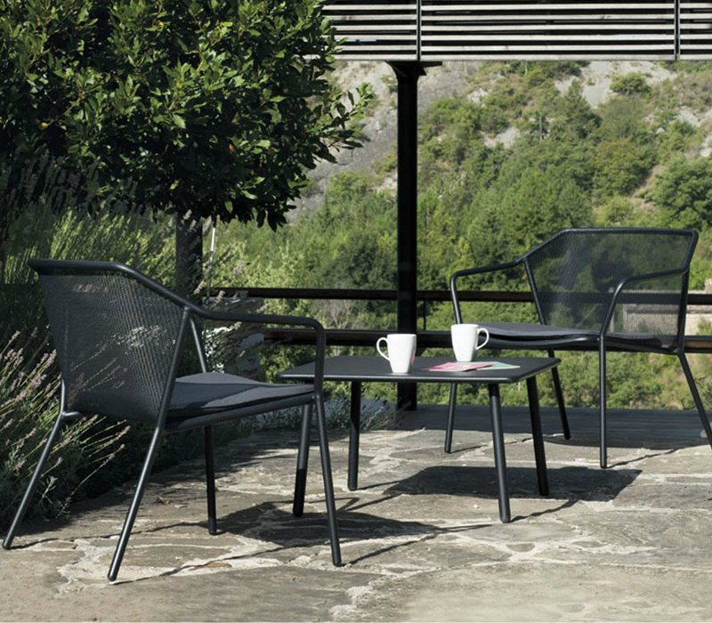 Tone on tone monochrome furniture for your patio for Outdoor furniture darwin