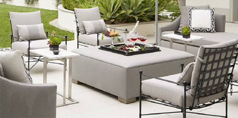 Tone On Tone: Monochrome Furniture For Your Patio