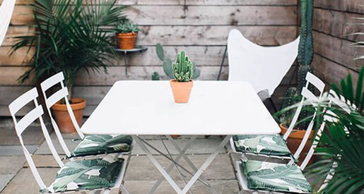 We've compiled a list of small patio decorating ideas to help you make the most out of your space.