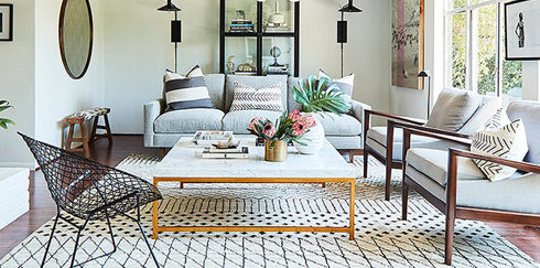 We've pulled together the best coffee tables — paired with perfectly coordinated accessories to achieve the ultimate coffee table vignette.