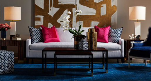 Finding furniture to perfectly fit a space is an art.