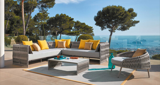 See how your outdoor dining experience can be enhanced with five amazing furniture brands