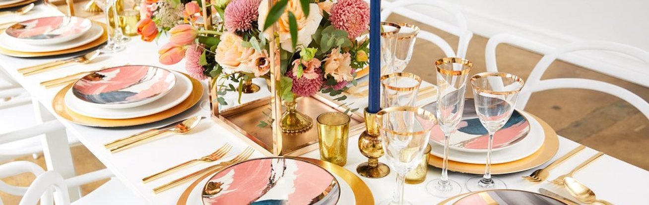 From appetizers to desserts, brush up on everything you need to know to host a modern dinner party.