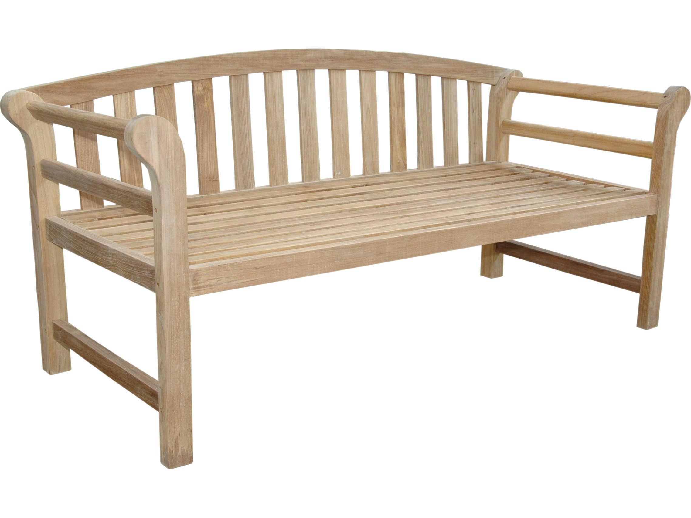 Anderson Teak Brisbane Deep Seating Outdoor Bench