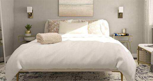 Quick and simple updates that will help you achieve a bedroom that matches your age.