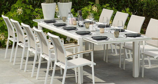 Outdoor Dining Table Sets for the 2020 Fall and Winter Holidays