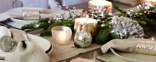Dining table offers a huge expanse of empty space just crying out for some decor love ... Get 10 home interior decorating ideas to dress up a dining table.