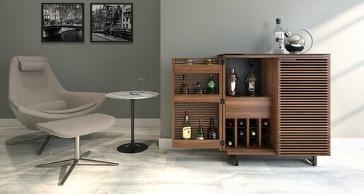 Home bars assists you in preparing drinks quickly, efficiently, and easily by getting all bar accouterments in a single place. Here are some home bar ideas to motivate you on your new home renovation.