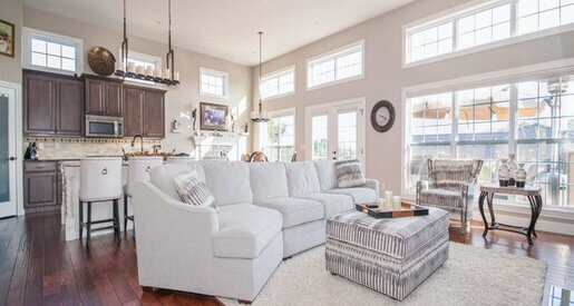"""The open concept interior has demonstrated remarkable staying power. The plan that typically combines entryway, kitchen, living and dining room into one """"great room"""" has dominated home design for decades. Why?"""