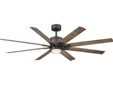 Modern Forms Renegade Oil Rubbed Bronze / Barn Wood 52'' Wide LED Indoor / Outdoor Ceiling Fan MOFFRW200152LOBBW