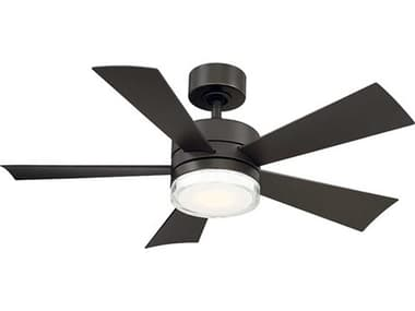 Modern Forms Wynd Bronze 42'' Wide LED Indoor / Outdoor Ceiling Fan MOFFRW180142LBZ