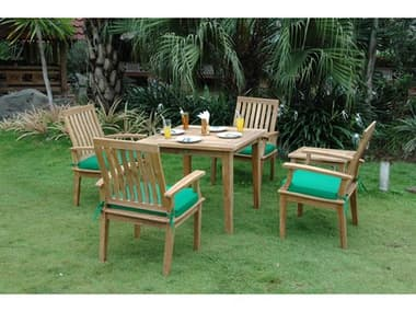 Anderson Teak Replacement Cushion for SET-117 (Price Includes 4 Cushions) AKCUSHSET117