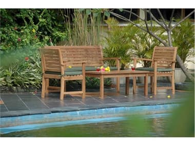Anderson Teak Replacement Cushion for SET-230 (Price Includes 3 Cushions) AKCUSHSET230