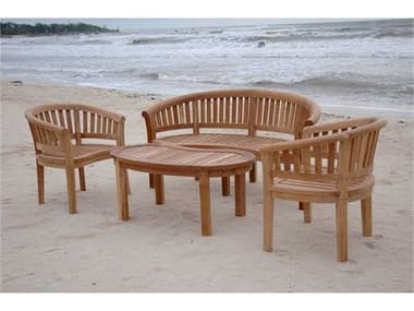 Anderson Teak Replacement Cushion for Curve Lounge Set (Price Includes 3 Cushions) AKCUSHSET5