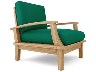 Anderson Teak Brianna Deep Seating Armchair + Cushion AKDS101