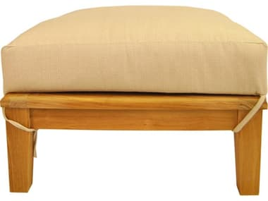 Anderson Teak Brianna Ottoman + Cushion AKDS104