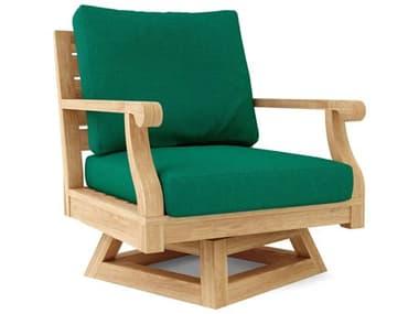 Anderson Teak Riviera Swivel Armchair + Cushion AKDS608