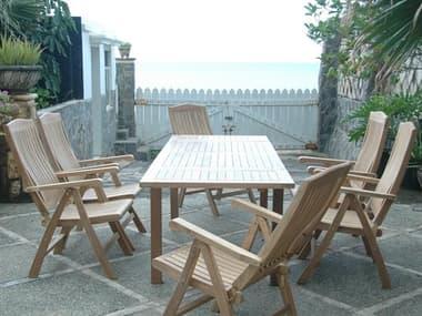 Anderson Teak Bahama Katana 7-Piece Dining Set AKSET1