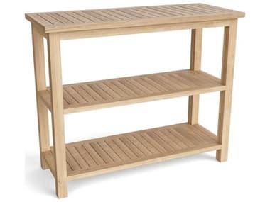 Anderson Teak Towel Console W/ 2 Shelves Table AKSPA4720