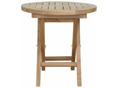 Anderson Teak Montage 20'' Round Folding Table AKTBF5080R