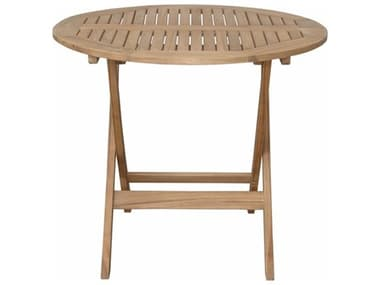 Anderson Teak Chester 32'' Round Folding Picnic Table AKTBF8128R