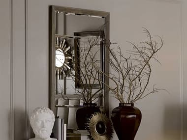 A.R.T. Furniture Cityscapes Whitney Gray Stone 32''W x 53''H Rectangular Wall Mirror AT2321212323