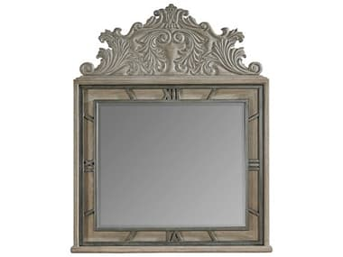 A.R.T. Furniture Arch Salvage Benjamin Parch 47''W x 58''H Landscape Wall Mirror AT2331212802