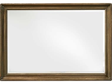 A.R.T. Furniture Continental Weathered Nutmeg 50''W x 34.5''H Rectangular Landscape Mirror AT2371202624
