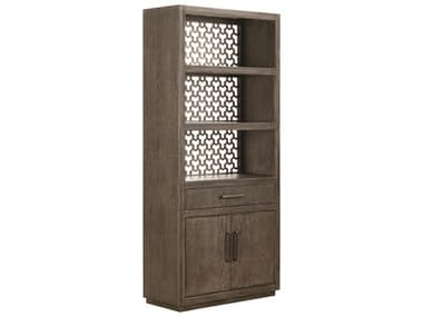 A.R.T Furniture Geode Kona and Facet Tourmaline Door Bookcase AT2388012303