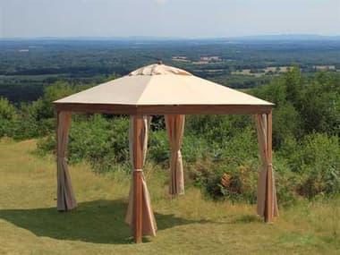 Bambrella Alize 10' x 10' Square Bamboo Pavilion B130SQA
