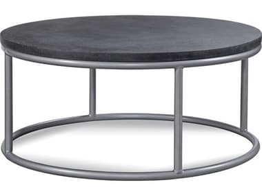 Braxton Culler Outdoor Tangier Sable 42'' Wide Aluminum Resin Round Chat Table BCO404070