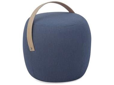 Braxton Culler Outdoor Olivia Teak Fabric Cushion Ottoman BCO405009D