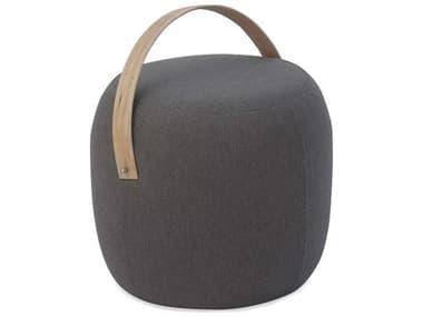 Braxton Culler Outdoor Olivia Teak Fabric Cushion Ottoman BCO405009G
