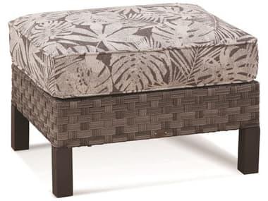 Braxton Culler Outdoor Luciano Granite Wicker Cushion Ottoman BCO414009