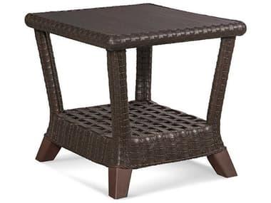 Braxton Culler Outdoor Lake Geneva Java 24'' Wide Wicker Rectangular End Table BCO444071