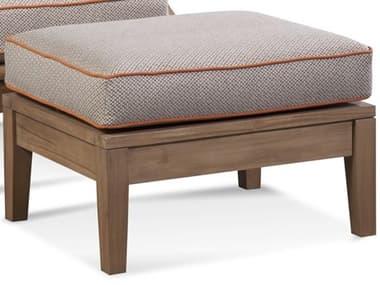Braxton Culler Outdoor Messina Teak Cushion Ottoman BCO489009