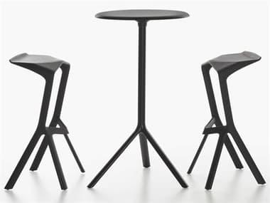 Bernhardt Design Plank Outdoor Miura Patio Dining Set BDO955371FD01FM01SET