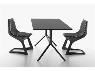 Bernhardt Design Plank Outdoor Miura Patio Dining Set BDO958601FD01FM01SET