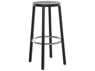 Bernhardt Design Plank Blocco Ash Black Bar Height Stool BDP850000ABALS