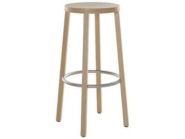 Bernhardt Design Plank Blocco Ash Natural Bar Height Stool BDP850000ANALS