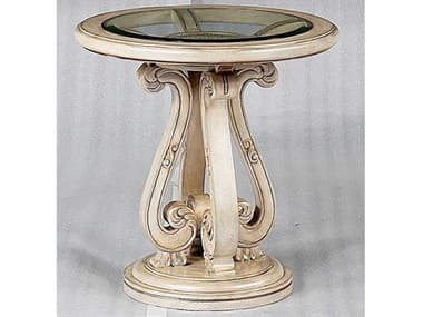 Benetti's Italia Furniture Rosabella 26'' Wide Round End Table BFROSABELLAENDTABLE