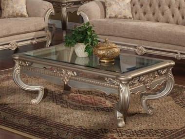 Benetti's Italia Furniture Rosella 58''W x 34''D Rectangular Cocktail Table BFROSELLACOCKTAILTABLE