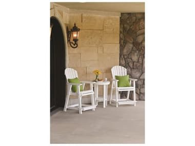 Berlin Gardens Comfo-back Recycled Plastic Bistro Counter Set BLGCMFBCKCNTRSET5